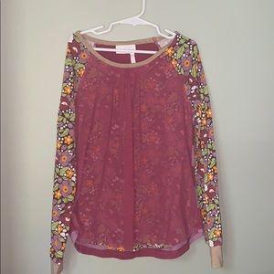 Matilda Jane, Girls long sleeve shirt, Size 10